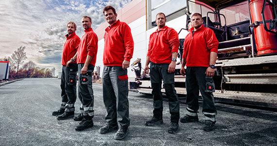 Das H-Team an der Bohle