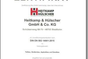 Urunde DIN ISO 14001